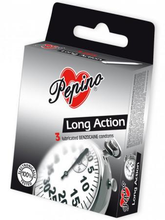 Kondomy Pepino Long Action